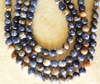 "Sodalite Fancy pastel 4mm beads colorful 16"" strands"