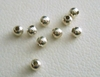 Round Bead - 2.5mm - 10 Pieces - Sterling Silver<br>SS300025MM