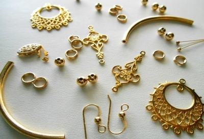 Vermeil  -Beads and Findings-