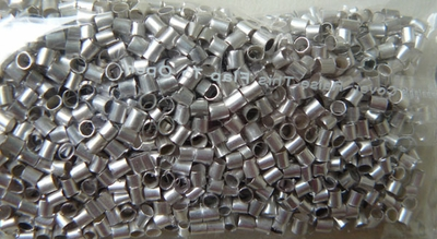 Sterling Silver Crimp Beads 2x2mm 100 Pieces  SS3011-2X2
