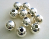 Sterling Silver Round Bead 8mm 10 Pieces  SS-3000-8-10