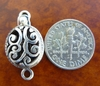 Single Strand Clasp - 13x15mm - 1 Clasp - Sterling Silver<br>EI2339
