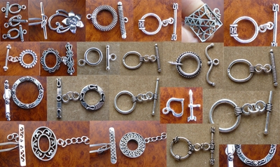 Toggles - Sterling Silver -
