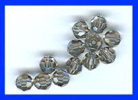 Swarovski Crystal 6mm Round  12 Pack