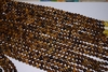 "Tiger Eye Mala Beads 14"" strands 7.5-8mm Uniformly strung Rounds"