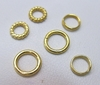 Try Our Jump Rings In 24Kt. Gold Over Copper!