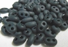 Twin Bead - Approx. 380 Beads - Matte Black<br>TWN23980M-TB