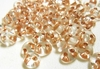 Twin Beads - Approx. 380 Beads - Copper Lined Crystal<br>TWN68105-TB
