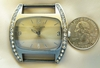 Watch face with crystals larger 40mm watch Japanese movements