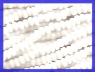 White 10/0 Seed Beads