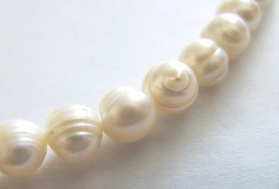 White Fresh Water Pearl - D Grade