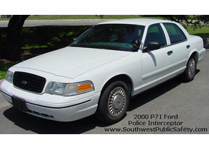 SOLD 2000 Ford Police Interceptor