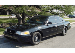 SOLD 2001 BLACK Ford Police Interceptor