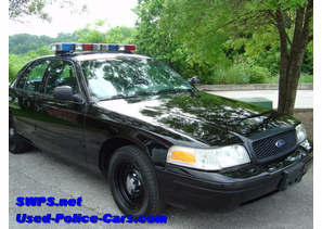 SOLD 2001 Ford P71 Police Interceptor Black