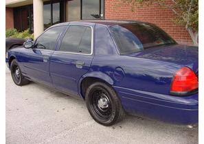 SOLD 2002 Ford P71 Blue