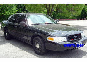 SOLD 2003 Ford P71 Police Interceptor Black Stealth Package