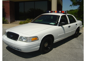 SOLD 2003 Ford P71 Police Interceptor w/ Light Bar Package