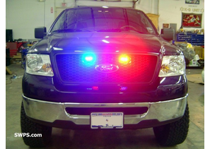2006 Ford F-150 Whelen TIR3 Red & Blue