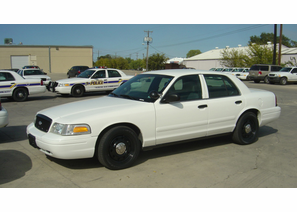 2007 Ford Police Interceptor - White - 71K Miles