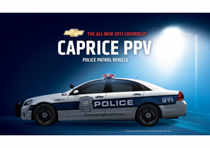 2012 Chevrolet Caprice 9C1 Police Patrol Vehicle (PPV)