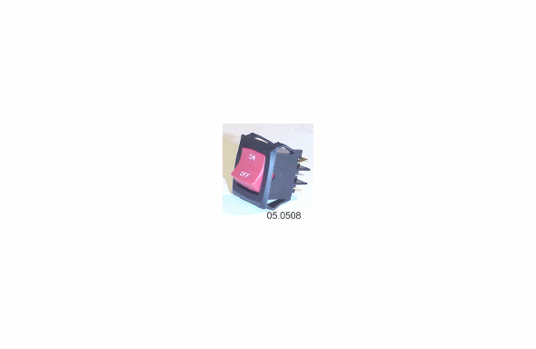 Able2 LARGE 15 AMP DPDT ROCKER SWITCH 05.0508