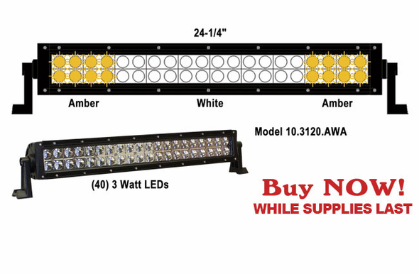 Able2 Sho-Me LED ESL Light 10.3120.AWA - Amber/Amber