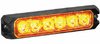 Able2 Sho-Me MEGA 63 LED Lighthead - AMBER - 10.6322.A00