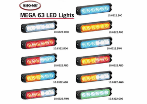 Able2 Sho-Me MEGA 63 LED Lighthead Series - 10.6322