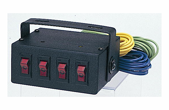 Able2 Sho-Me - Switch Box w/ Four 20A Switches 05.4000