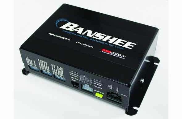 Code 3 PSE Banshee Dual Tone/Low Frequency Siren Amplifier System - 3450