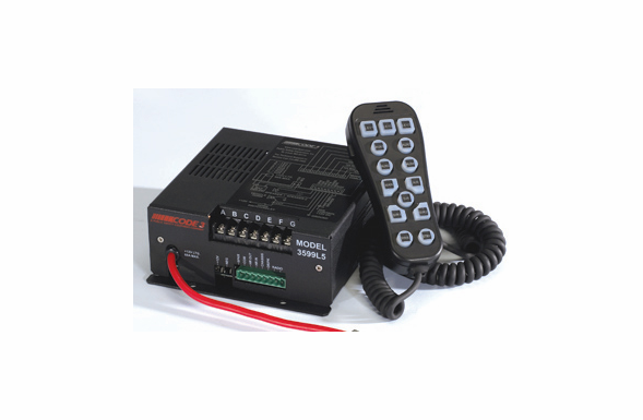 Code 3 PSE H2Covert Hand-Held Siren/Light Controller - 3599L5