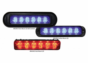 Code 3 PSE MR6 LED Lightheads