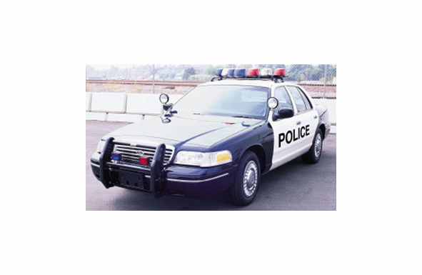 Go Rhino Ford 1998-2002 Police Interceptor Push Bumper - 5036
