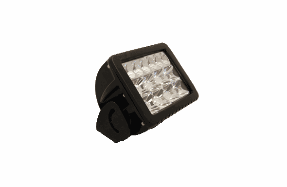 GoLight GXL LED Work Light - SPOTLIGHT - BLACK - 4411