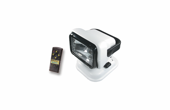 Golight Radio Ray Wireless Remote Searchlight - White -7901