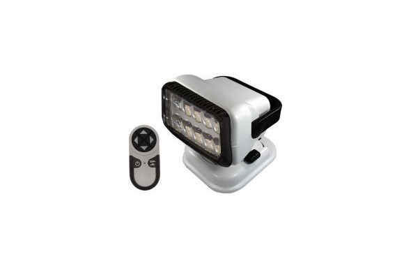 GoLight RadioRay LED Wireless Remote Control Searchlight - Permanent - 20004 - White