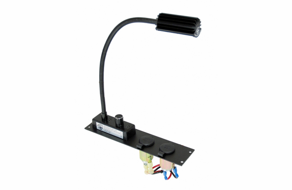 Havis Console Maplight with 2 12 volt Power Outlet C-ML-LP2