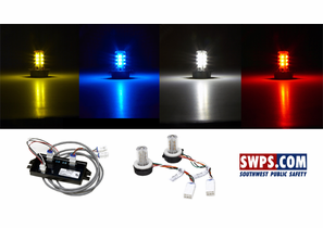 Hide-A-Way LED & Remote Strobe Light kits