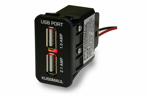Kussmaul USB Dual Charging Port for Switch Panels - 091-219