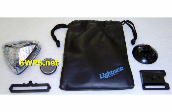 Lightman Safety Strobe Kit CLEAR Lens 10000
