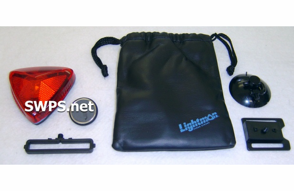 Lightman Safety Strobe Kit - RED Lens 12000