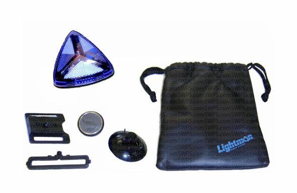 Lightman Wide-Angle LED Safety Kit - Blue 75500