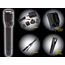 NightStick LED Metal Rechargeable Flashlights - Dual Switch - NSR-9614XL