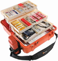Pelican 1460EMS Case - ORANGE