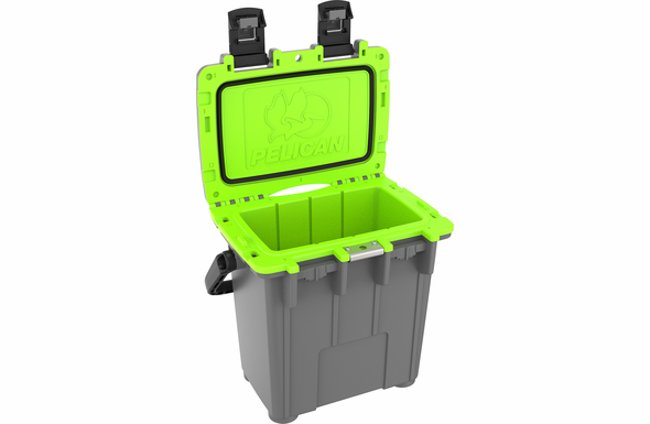 Pelican 20Q Cooler Dark Gray / Green 20Q-1-DKGRYEGRN
