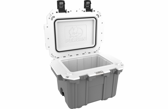 Pelican 30 Quart Cooler Dark Gray/White 30Q-DKGRYWHT