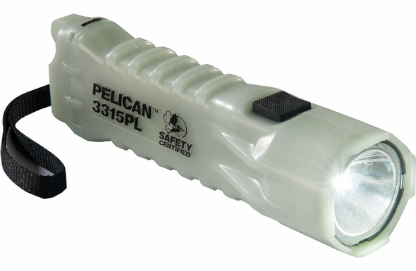 Pelican 3315 Compact LED Flashlight - Photoluminescent - 3315PL