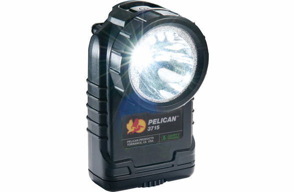 Pelican 3715 LED Right Angle Flashlight - BLACK