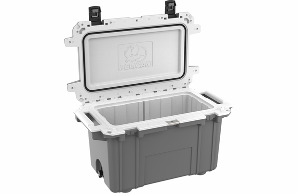 Pelican 70 Quart Cooler Dark Gray/White 70Q-1-DKGRYWHT