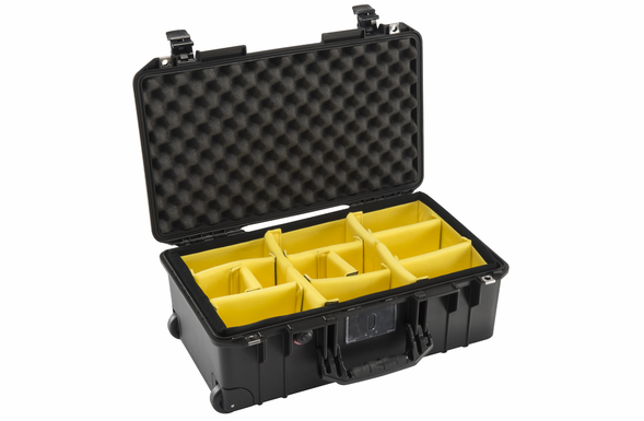 Pelican Air 1535 Case with Padded Dividers - Black